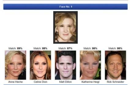 Celebrity lookalike generator